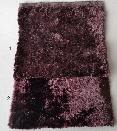 Плюш винтажный для мишек Тедди №2 ручной работы на заказ