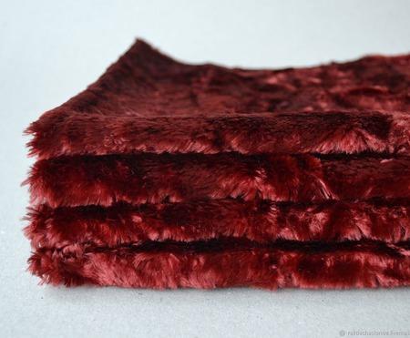 Плюш винтажный для Тедди родного окраса №12 ручной работы на заказ