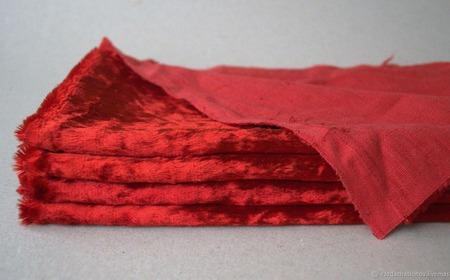 Плюш винтажный для Тедди родного окраса №10 ручной работы на заказ