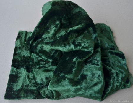 Плюш винтажный для Тедди родного окраса №4 ручной работы на заказ
