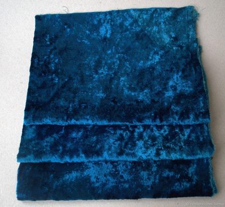 Плюш винтажный для Тедди родного окраса №3 ручной работы на заказ