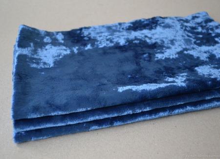 Плюш винтажный для Тедди родного окраса №2 ручной работы на заказ