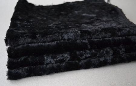 Плюш винтажный для Тедди родного окраса №1 ручной работы на заказ