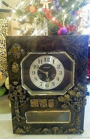 Настенные часы механика с красивым боем ручной работы на заказ
