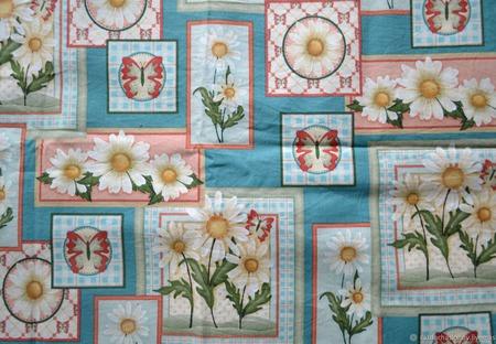 Ткань хлопок для пошива сумок и домашнего текстиля №2 ручной работы на заказ