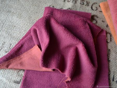 Ворсовая ткань плюш для кукол и мишек Тедди ручной работы на заказ