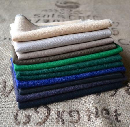Ткань шерсть для кукол лоскуты ручной работы на заказ