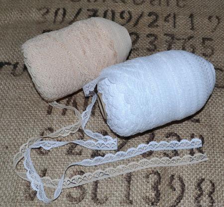 Кружево винтажное узкое (Прибалтика) ручной работы на заказ