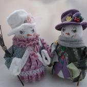 Снежная пара
