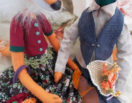 Елизавета и Леонид ручной работы на заказ