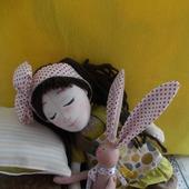 Текстильная кукла Соня
