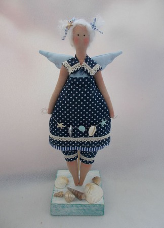 Морской Ангел ручной работы на заказ