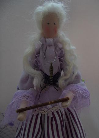 Тильда. Девушка с флейтой ручной работы на заказ