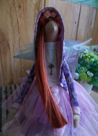 Интерьерная кукла Фея  Мария ручной работы на заказ