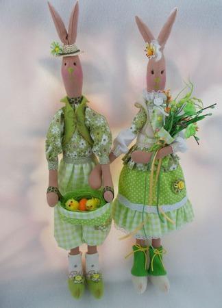 Пасхальные Кролики ручной работы на заказ