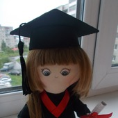 Интерьерная кукла Бакалавр