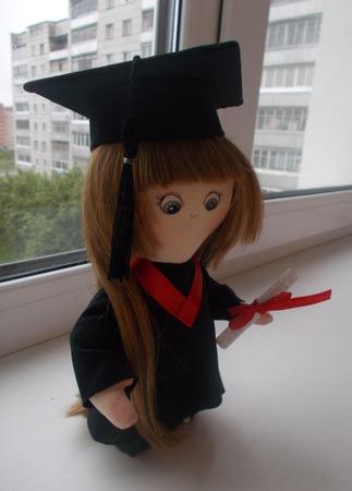 Интерьерная кукла Бакалавр ручной работы на заказ