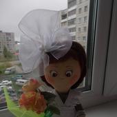 Интерьерная кукла Первоклашка