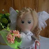 Интерьерная кукла Первоклассница