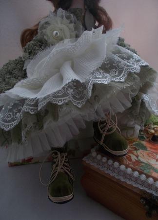 Будуарная кукла  Анна ручной работы на заказ