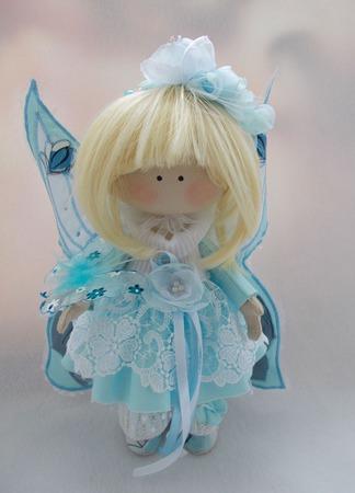 Интерьерная Куколка-Бабочка ручной работы на заказ