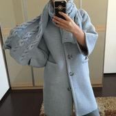 """Пальто """"Голубая лагуна"""""""
