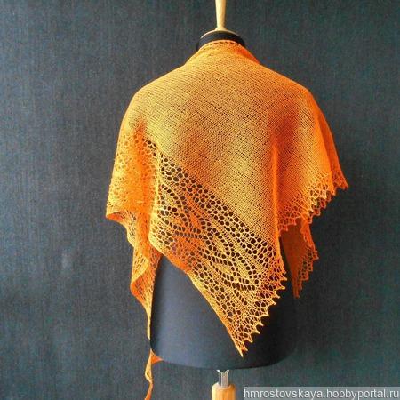 Инструкция по вязанию шали Вивьен ручной работы на заказ