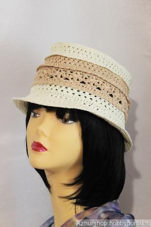Шляпка трилби ручной работы на заказ