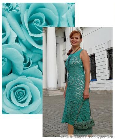 """Мастер-класс платье """"Элегия"""" ручной работы на заказ"""