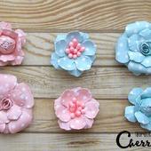 Набор цветочков из 6 штук