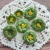 Набор цветочков из 7 штук