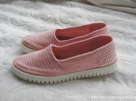 Туфли Эспадрильи вязаные ручной работы на заказ