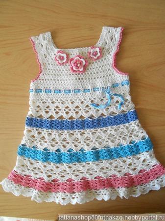 Летние детские платья ручной работы на заказ