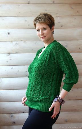 Пуловер повседневный ручной работы на заказ