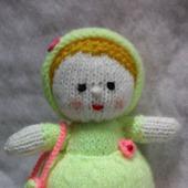 "Вязаная куколка ""Маленькая принцесса"""