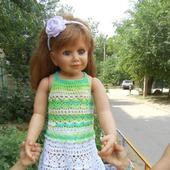 Летний костюм для девочки