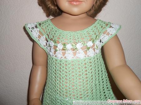 """Летние  детские платья """"Мята"""" ручной работы на заказ"""