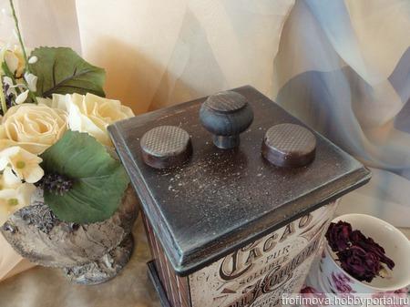 """Чайный домик """"Шоколад"""" ручной работы на заказ"""
