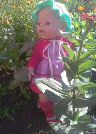 Комплект для куклы Беби Борн ручной работы на заказ