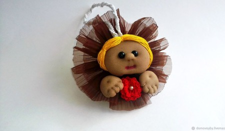 Кукла-попик Глафира ручной работы на заказ