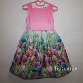 """Платье для девочки """"Розы в розовом"""""""