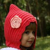 """Капор-капюшон """"Красная шапочка"""""""