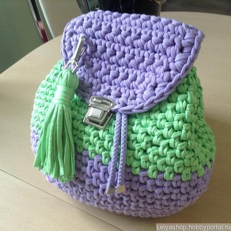 Рюкзак детский ручной работы на заказ