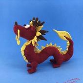 Вязаная игрушка Китайский дракон