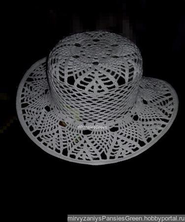 """Шляпа """"Алиса"""" ручной работы на заказ"""