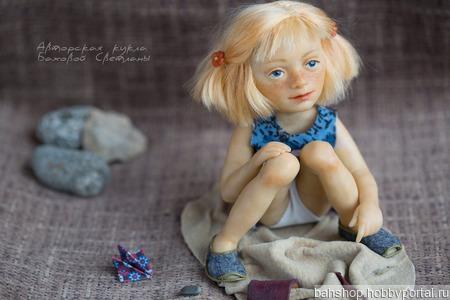 Куколка  Девочка в песочнице ручной работы на заказ