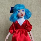 Кукла Мальвина из мультфильма
