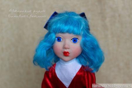 Кукла Мальвина из мультфильма ручной работы на заказ
