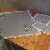 Мини-скатерть с салфетками