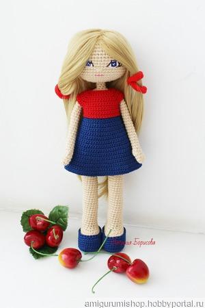 """Мастер-класс """"Кукла Алиса"""" ручной работы на заказ"""